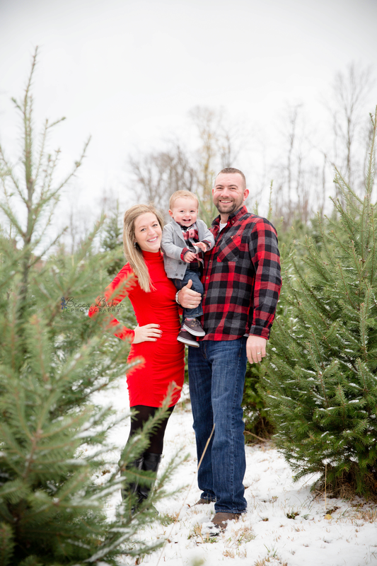 Christmas Tree Farm Photography.Blog Becca Baker Photography